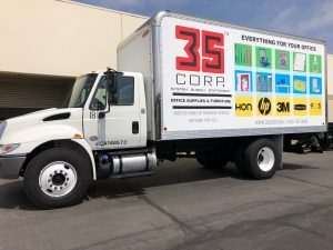 attractive custom truck graphics
