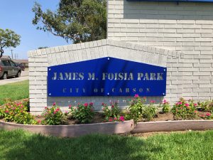 custom attractive monument sign with dimensional letters